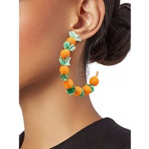 Kenneth Jay Lane Perfect Preppy Summer Hoops: NEW